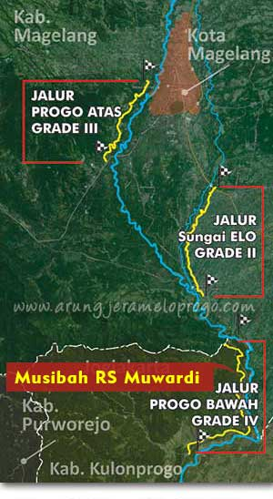 Klarifikasi: Kecelakaan Arung Jeram Sungai Progo Bawah Bukan Kegiatan Provider PROGO RAFTING.